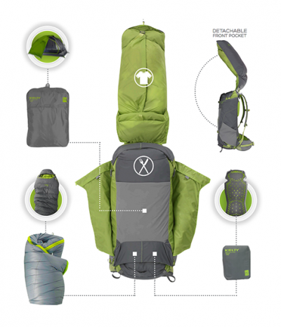 PK50 Backpack Rental - details  sc 1 st  OER Rentals & Backpacking combo package (Local) - OER