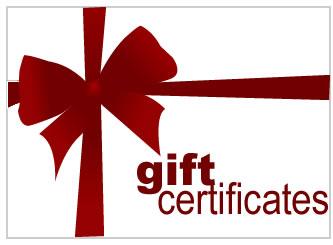 gift certificate oer